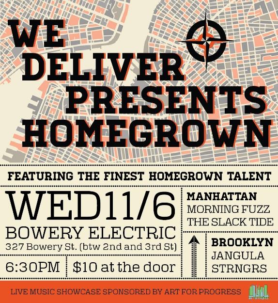 We Deliver Presents Homegrown