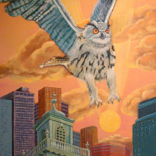 Owl Over Boston
