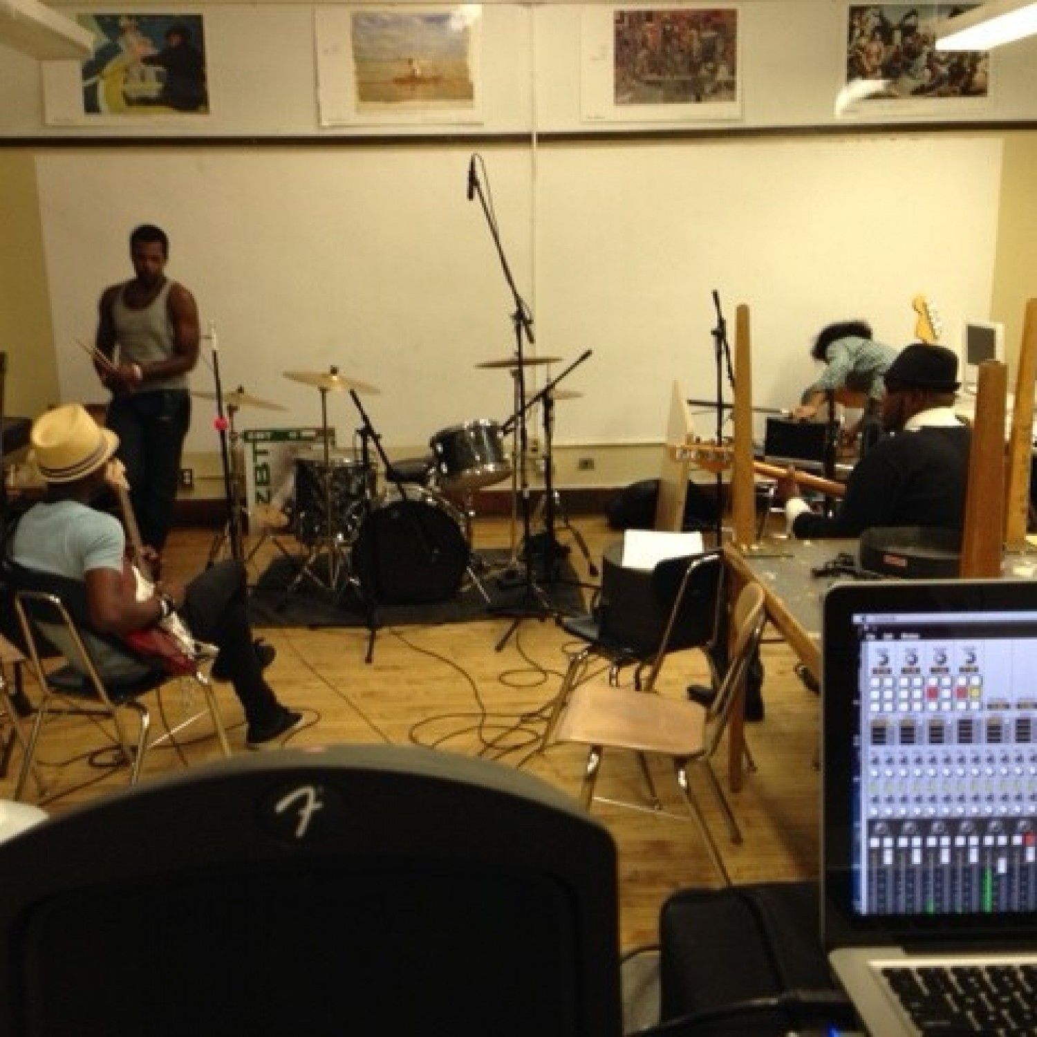 "Recording ""The Cut"""